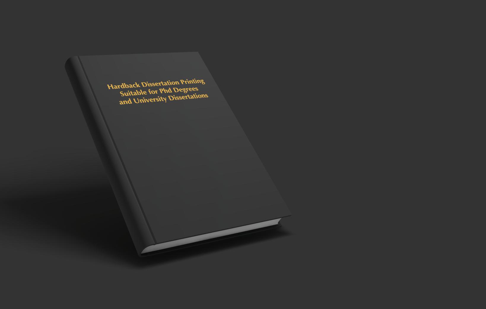 Hardback Dissertation Printing