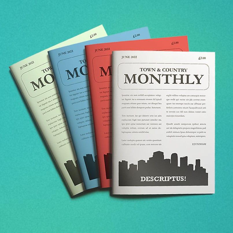 A5 Magazine Printing